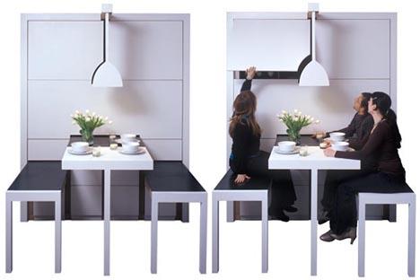 Fold Away Kitchen Table